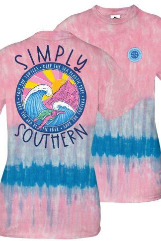 Simply Southern Tie Dye Turtle T-Shirt