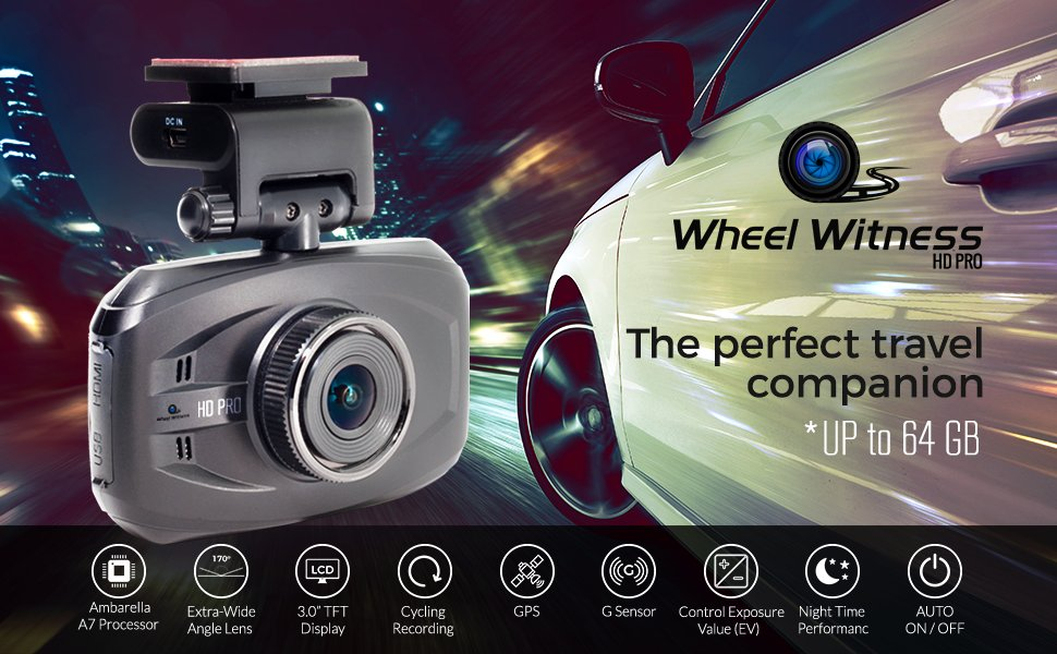 Wheel Witness Best Dash Cam Product Image