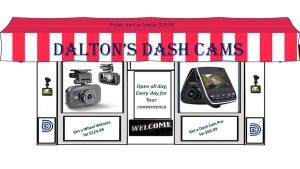 Dalton's Dash Cams Storefront Dashboard cam