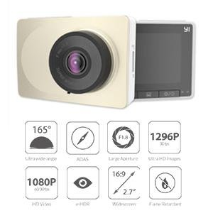 Yi 2.7-Inch Full-Screen DVR Dash Cam Product image
