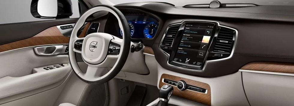Volvo interior driver's seat