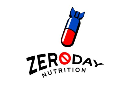 Brand Identity - ZeroDay Nutrition - Supplement and Nutraceutical Manufacturer - Designed under the small business entity, Kandil Consulting LLC by owner and sole proprietor, Dalya Kandil
