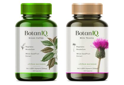 Dalya Kandil created designs for BotanIQ, as a subcontractor for ZeroDay Nutrition, a Texas-based sports and nutrition manufacturer.