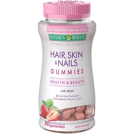 dalybeauty nature's bounty hair skin nails review