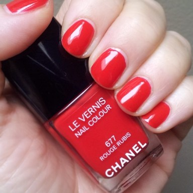 Chanel Rouge Rubis swatch