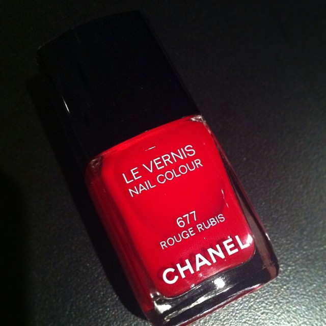 Chanel Le Vernis Rouge Rubis Could Be The Ultimate Red Nailpolish
