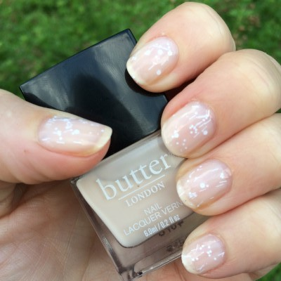 Butter London Pink Ribbon with Butter London Doily