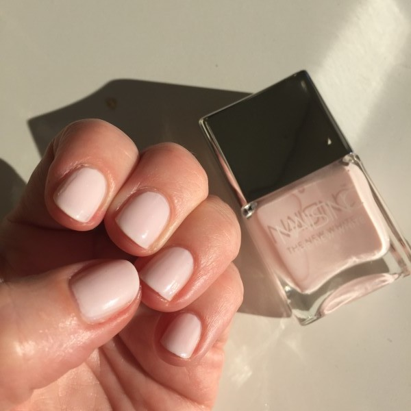 Nails Inc New Whites Whitehall swatch dalybeauty