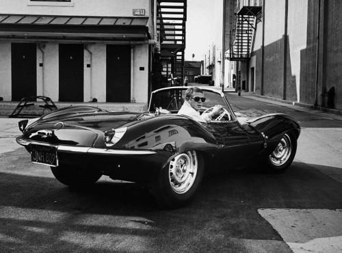 Steve McQueen Jaguar XK SS