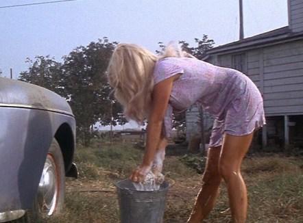 Joy Harmon's famous car wash scene in Cool Hand Luke