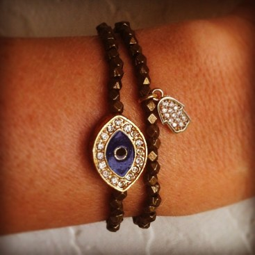 evil eye hamsa Gage Huntley