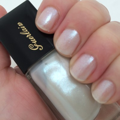 Guerlain Stardust, 2 coats in daylight