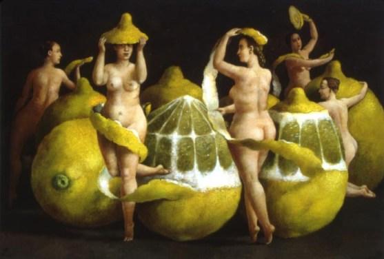 Fragrance of the Lemon Peel © Ilya Zomb