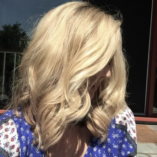Jane daly second day hair waves