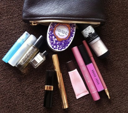 make up bag stuffs