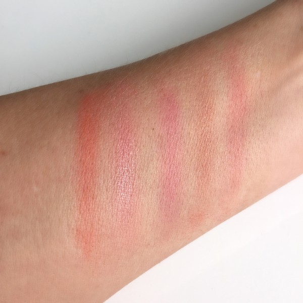 Chanel LA Sunrise Sunkiss Ribbon Blush swatch dalybeauty