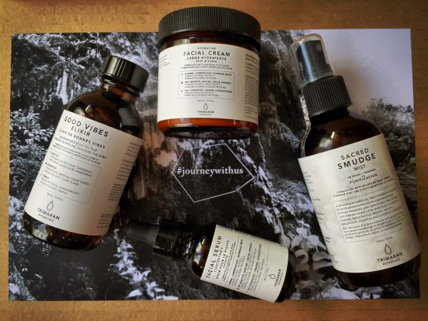 Trimaran Botanicals skincare review