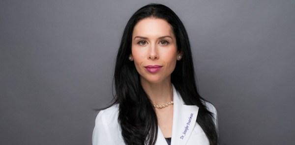 The lovely Dr Jennifer Pearlman
