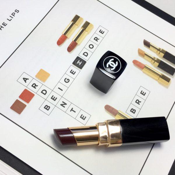 CHANE Coco Codes Rouge Coco Shine Noir Moderne
