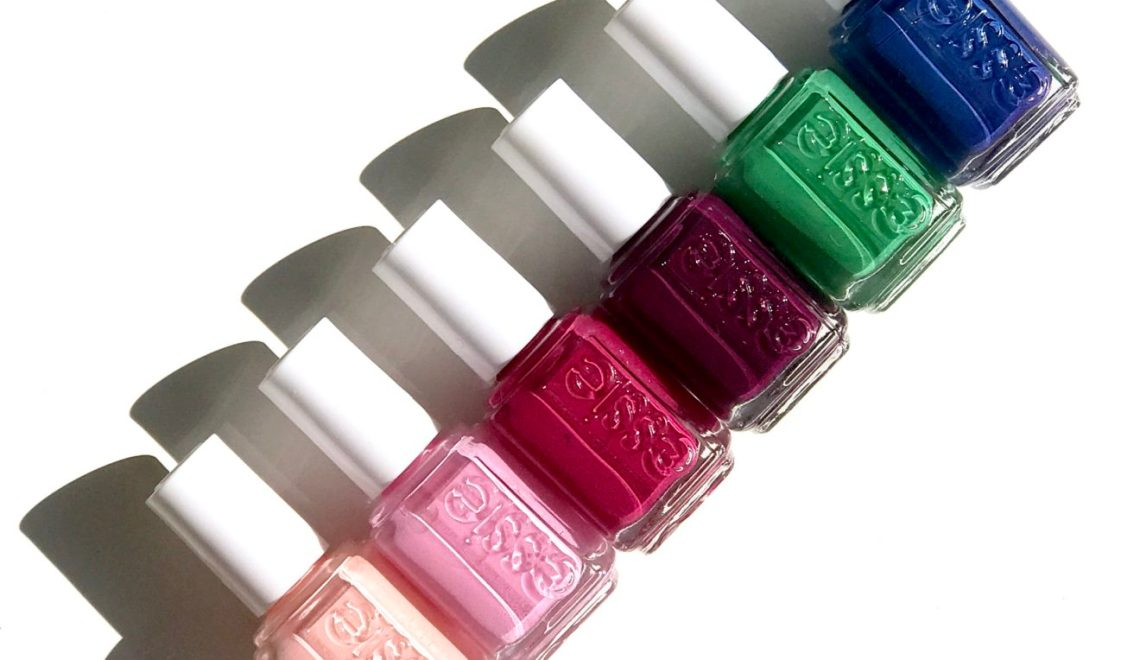 California road tripping: essie spring 2017 review & swatches