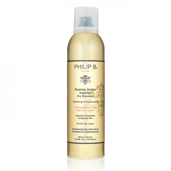 Philip B. Russian Amber Imperial Dry Shampoo review dalybeauty