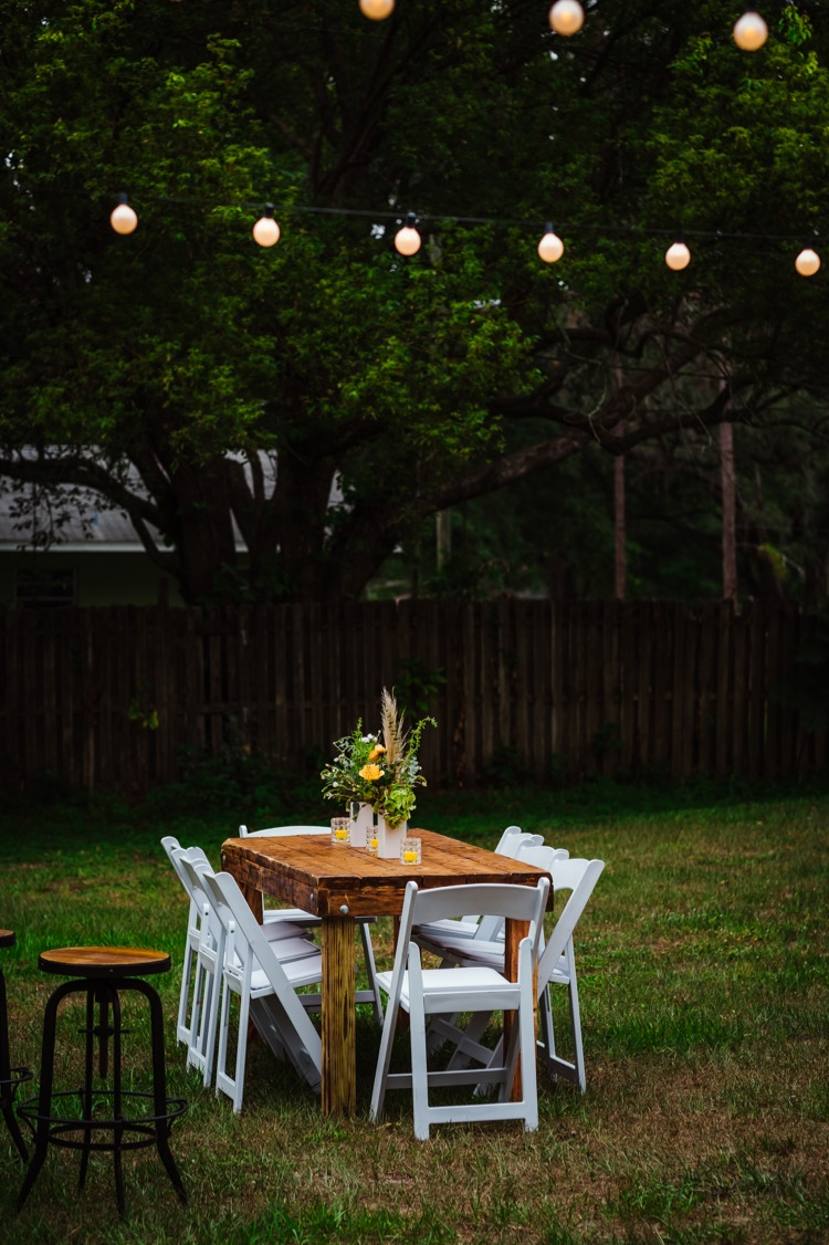 A Surprise Rustic Backyard Party For My Hubby Daly Digs