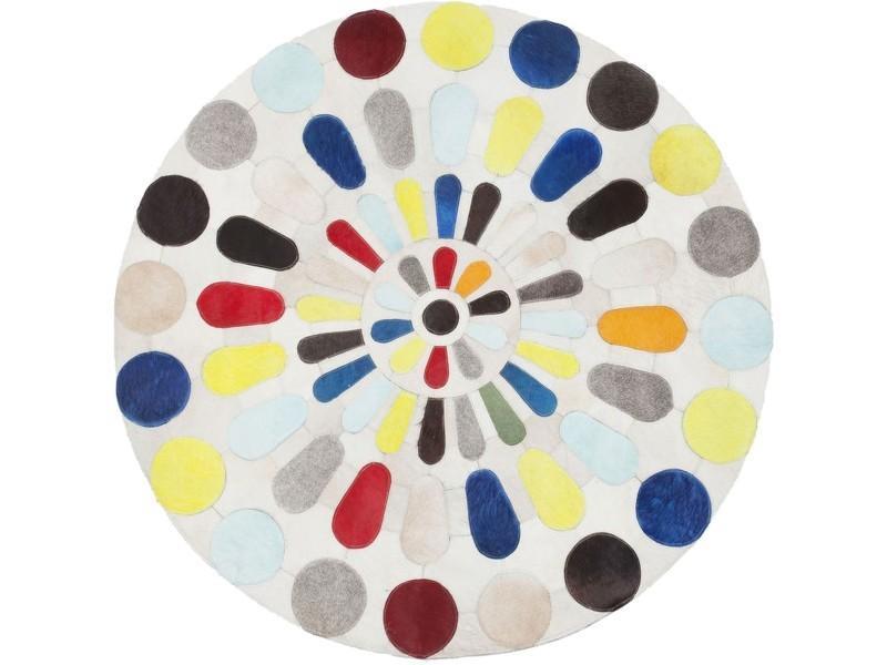tapis rond campo multicolore 150cm