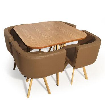 table avec chaises conforama