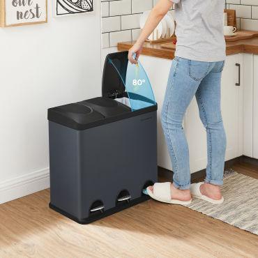 poubelle de cuisine pas cher conforama