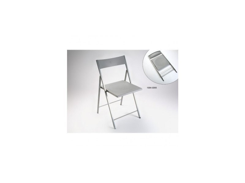 chaise pliante argent poly vente de