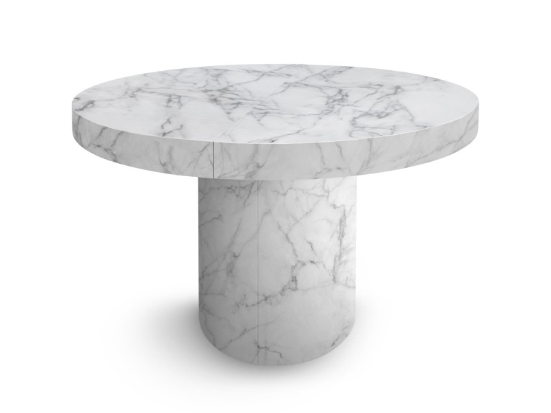 table ronde marbre