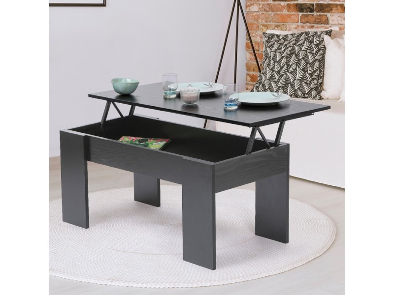 table basse plateau relevable tara bois