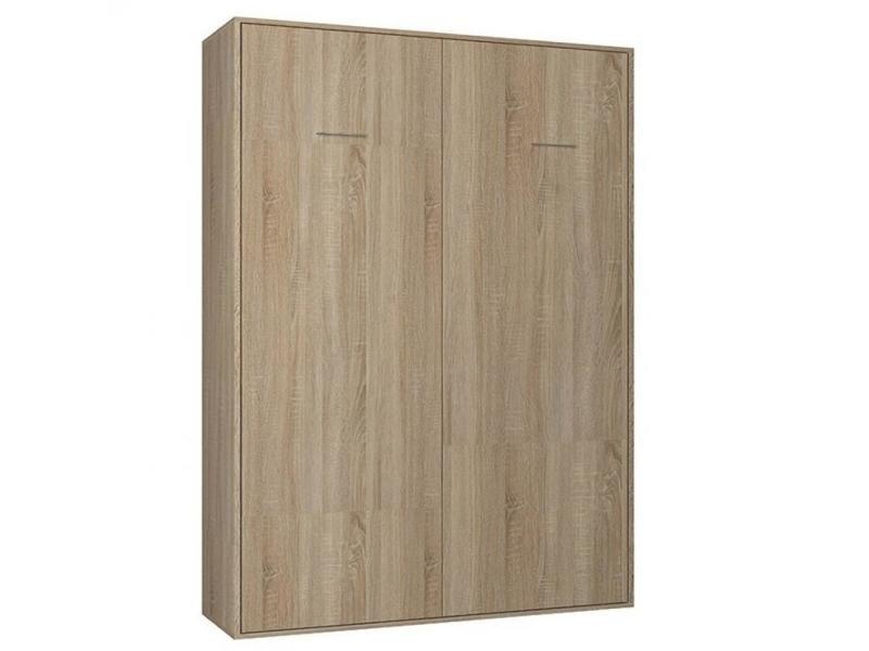 armoire lit escamotable smart v2 chene