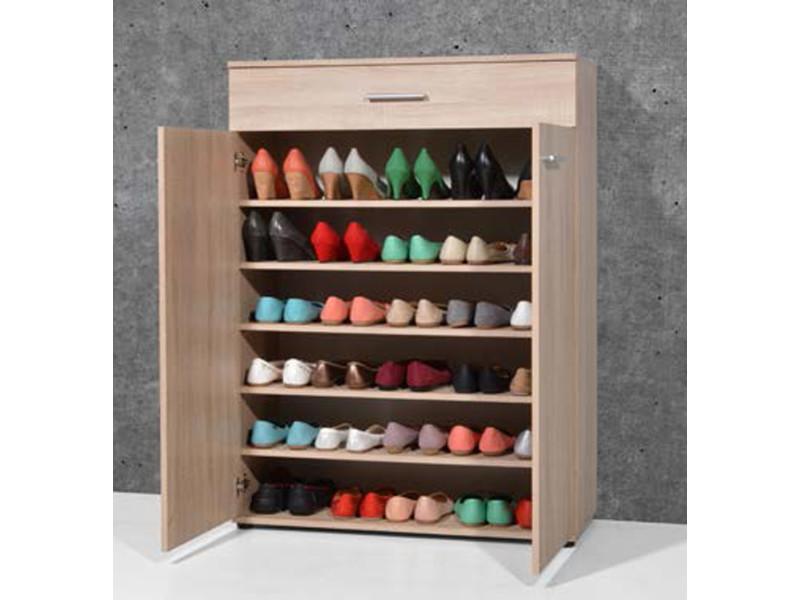 meuble chaussure tiroirs