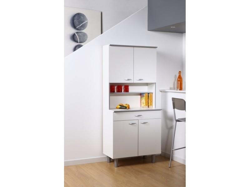 meuble de cuisine easy 4 portes 1 tiroir l 80 x p 44 x h 180 cm