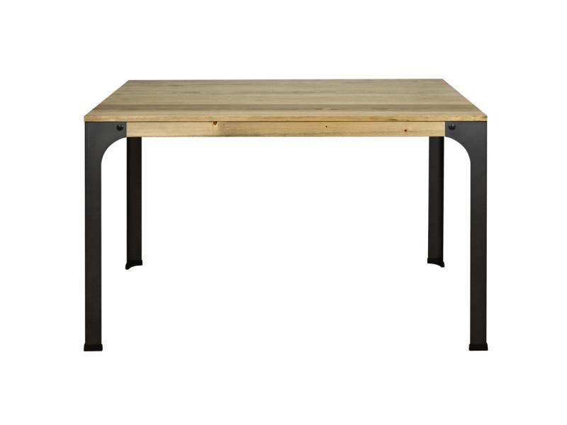 Table De Bureau Bristol Style Industriel Vintage 80x120x75 Cm Ccvb8012075ev Vente De Ds Meubles Conforama