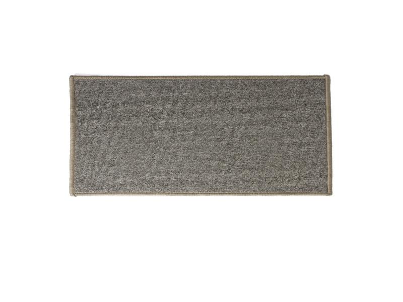 tapis uni 120 x 50 cm gris chine