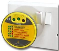 Fluke Sm100 Sm200 And Sm300 Electrical Socket Testers