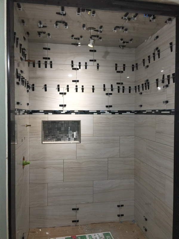 shower ceiling tiles can you do