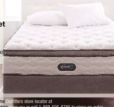 Simmons Beautyrest Studio Carson Hi Loft Pillow Top Pocket Coil Mattress Set