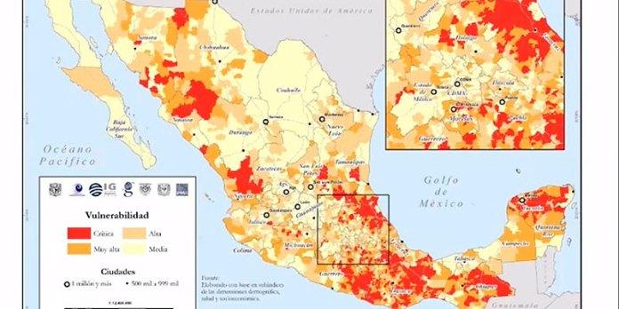 UNAM presenta Atlas de las zonas más afectadas de México ante ...