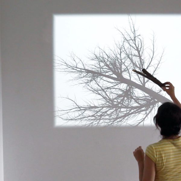 "Rafael Lozano-Hemmer, ""Bifurcation"", 2012. Photo by: Antimodular Research"
