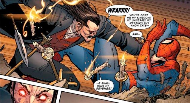Morlun, el heredero más peligroso de Spider-Geddon
