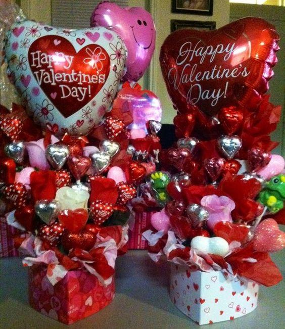 De Y 14 Febrero 14 El Para Amistad Febrero Caja Arreglos Del Madera De De En Dia Amor La
