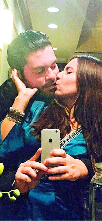 Franky Tostado y Kate Del Castillo. Foto: Archivo