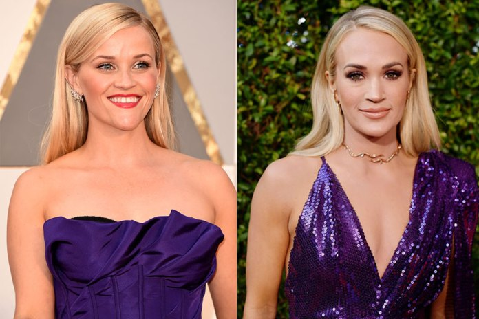 Reese Witherspoon and Carrie Underwood