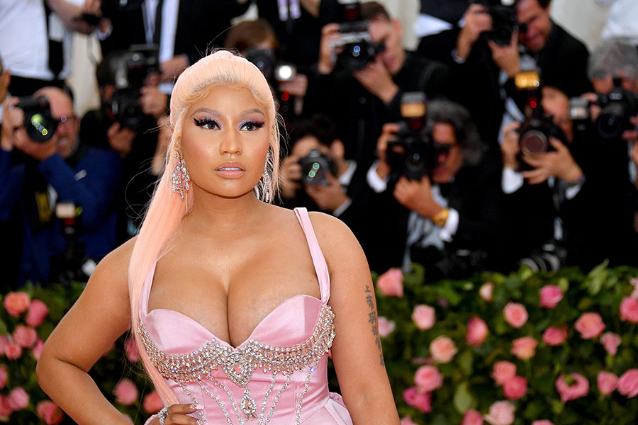 Nicki Minaj announces she's pregnant