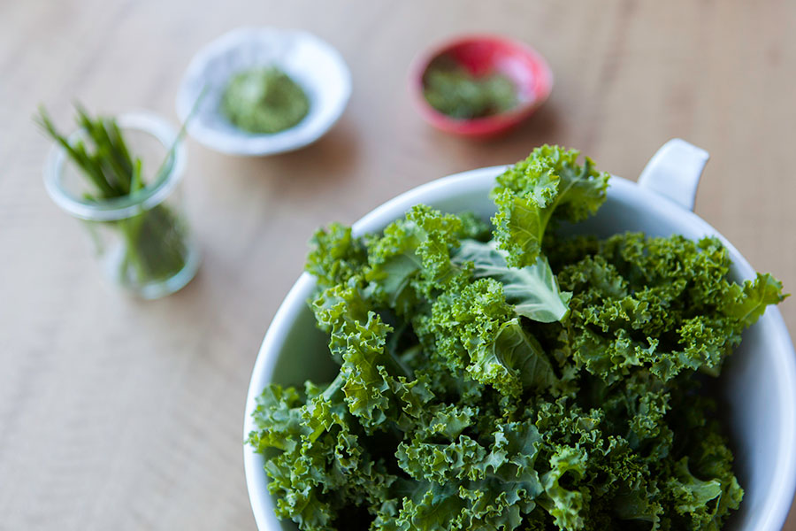 The power of green foods - Kale