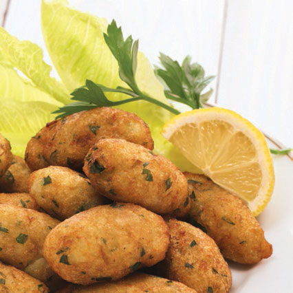 Seafood croquettes