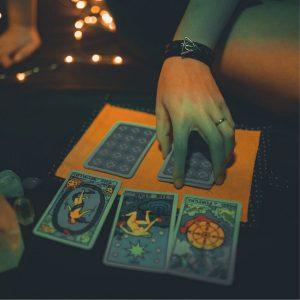 Card and tarot texture